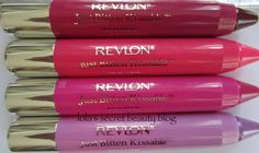 Revlon - Just Bitten Kissable. These are awesome! Luv the Rendezvous color