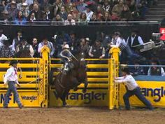 Billy Etbauer - 04-09 NFR Saddle Bronc Riding