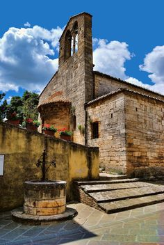 San Quirico d'Orcia, #Italy #Tuscany. One hour from #ColleMassari