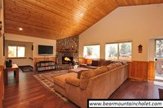 Luxury Cabin ** Fun Game Room :-) - vacation rental in Big Bear Lake, California. View more: #BigBearLakeCaliforniaVacationRentals
