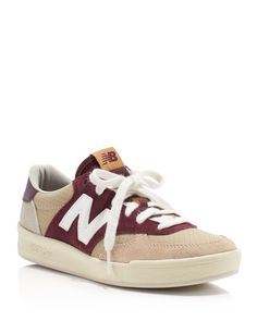 New Balance Court Classic Lace Up Sneakers