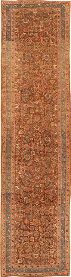 Antique Bakshaish Persian Rug 42365 Detail/Large View - By Nazmiyal