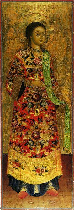Religious Russian men in fancy clothing  - Archdeacon Stephen