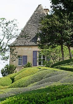 The Overhanging Gardens of Marqueyssac.   Flickr - Photo Sharing!