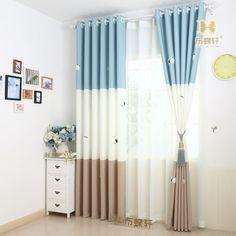 Baby Kids Room Curtains Korean Stlye Cartoon Curtain For Children Room Twou2026 Boys  Curtains,