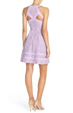 Free shipping and returns on Adelyn Rae Cutout Lace Fit & Flare Dress (Nordstrom Exclusive) at Nordstrom.com. The classically timeless party dress gets a fresh update in cool, contemporary lace with angular back cutouts and banded panels circling the playfully pleated skirt.
