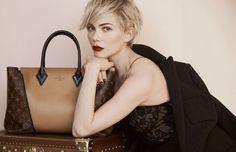 Elegant and modern, discover @Louis Vuitton Official latest creation on the arm of Michelle Williams