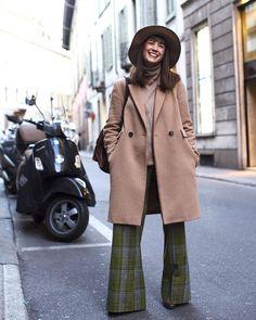On the Street....Via Bigli Milan My adorable new friend @michelacaprera by thesartorialist