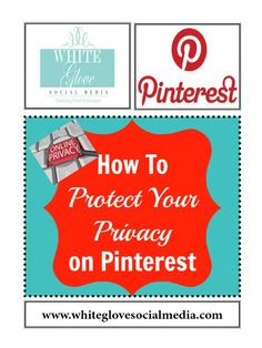Did you know that several companies are tracking your online activities? If you don't want to be tracked here's how to protect your privacy from #Pinterest and other companies.✭Pinterest Consultant Vancouver✭