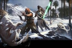 Star Wars: Force and Destiny Beginner Game by wraithdt #starwars #destiny #force #conceptart #art #fantasy #scifi #lightsaber #gaming #games #game #videogame #future #digitalart #digitalpainting #characterart #characterdesign #character #digital #drawing #instagram #insidific #awesome