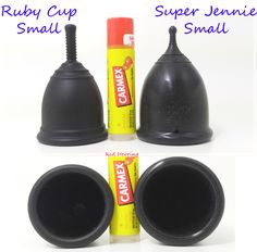 Ruby Cup Small vs. Super Jennie Small  #menstrualcup #periodpositive #SuperJennie #RubyCup #mycupsonfleek #rumps #menstruationmatters