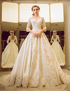 Ball Gown Wedding Dress - Classic