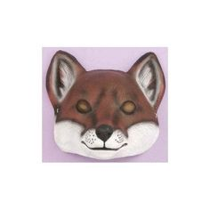 Fox Child Animal Mask by Forum Novelties - 61381, Girl's, Multi