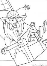 The Emperor's New Groove coloring pages on Coloring-Book.info