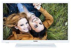 """Telefunken XH28A101-W LED Fernseher 28"""" Zoll 72cm TV DVB-C/-T2/-S2 HD CI+ weiß; EEK Bsparen25.com , sparen25.de , sparen25.info"""