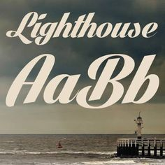 Lighthouse free font