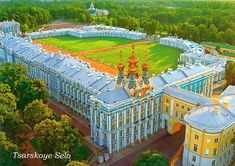 Catherine Palace, Russia - where Empress Catherine the Great lived and died.