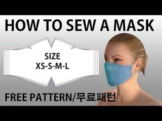 how to make a face mask-DIY mask-Criando uma máscara-Utwórz maskę-면 마스크 . how to make a face mask-DIY mask-Criando uma máscara-Utwórz maskę-면 마스크 . Easy Face Masks, Diy Face Mask, Sewing Patterns Free, Free Pattern, Pocket Pattern, Mouth Mask, Diy Mask, Mask Making, Facial Masks