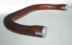 Wood bullhorn handlebars