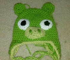 Pig angry birds- pattern used but taken down and not for sale. :(