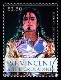 St Vincent Stamps - Michael Jackson