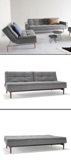 Hochwertiges Schlafsofa im skandinavian design! Verschiedene Farben zur Auswahl! |Betten.de http://www.betten.de/boxspring-schlafsofa-taschenfederkern-topper-carol.html #schlafsofa #gästebett #klappsofa #skandinavian #style