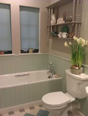 The Family Bathroom From The Arts And Crafts Eco Home China Clay Deep