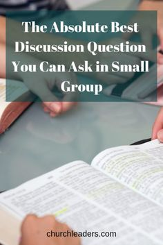 Looking for the absolute best discussion question for small group Bible study? One of the greatest skills that you need to run a good Bible study is the instinct to craft good questions. Small Group Bible Studies, Bible Study Group, Book Study, Ministry Leadership, Leadership Quotes, Women's Ministry, Ministry Ideas, Bible Study Questions, Bible Study Plans