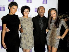 Eddie Murphy, daughters and former wife