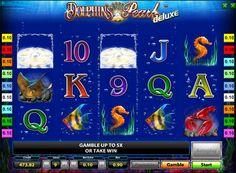 Spille Dolphin's Pearl Deluxe spilleautomat for ekte penger. Spilleautomat Dolphin's Pearl Deluxe ble utviklet av Novomatic. Blant aktørene i dette sporet ofte kalt Dolphin, eller i sjeldne tilfeller Dolphin'sPearl. Det kan spilles for ekte penger, og bilder av marint liv, og free spins vil bidra til å få gode fordeler. Men hvis du vil at spillerne kan til