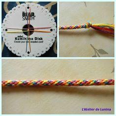 Kumihimo bracelet : Tuto Plus