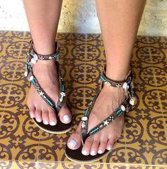 Sandals, Women Sandals, Leather Sandals, Gladiator Sandals, Bohemian Sandals, Festival Sandals, Greek Sandals, Pom Pom Sandal, Summer Sandal