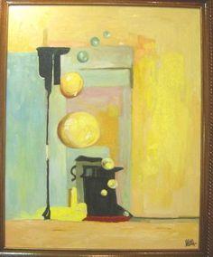 Obra de Carmelo VARONA, serie amarillos