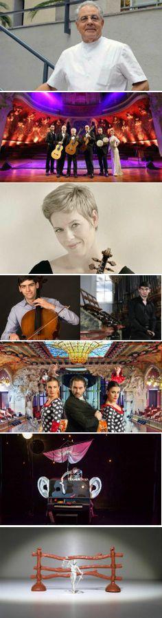 Concerts d'octubre al Palau (III)     Palau de la Música Catalana (Barcelona)  Del 16 al 22 d'octubre