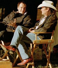 "Quentin Tarantino and Michael Madsen - ""Kill Bill"""