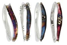 Wave Bangle Stack, Little Rock Jewellery Studio, Robyn Cornelius Rock Jewelry, Metal Jewelry, Sterling Silver Jewelry, Unique Jewelry, Jewellery, Diy Jewelry, Handmade Jewelry, Date, Jewelry Making Classes