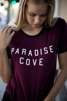 Brandy ♥ Melville | Nadine Paradise Cove Top - Graphics