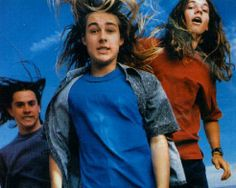 OMFG!!! This actually WAS on my bedroom wall!!! Silverchair from Rolling Stone circa......1998?