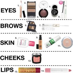 carli bybel prom makeup look 2013 products used laura