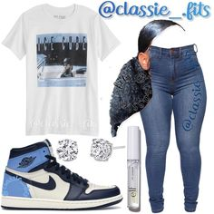 Baddie Outfits Casual, Boujee Outfits, Swag Outfits For Girls, Cute Outfits For School, Cute Swag Outfits, Teenage Girl Outfits, Cute Comfy Outfits, Girls Fashion Clothes, Teen Fashion Outfits
