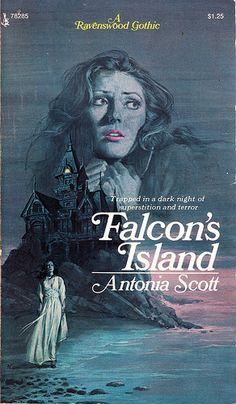 FALCON'S ISLAND by Antonia Scott