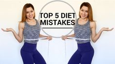 WHY CAN'T I LOSE WEIGHT? | TOP 5 DIET MISTAKES