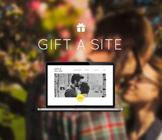 Engagement Gift | Wedding Websites by Sitting in a Tree