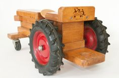 Vintage Wood Tractor Ride-On Toy by Community Playthings | Flickr - Photo Sharing!