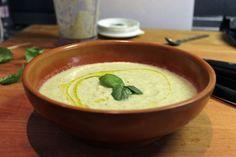 crema (fredda o tiepida) di zucchine con menta e basilico