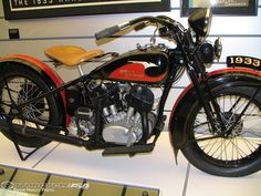 """In 1933, they began painting an art-deco """"eagle"""" design on all of its gas tanks, and the artistic graphic design would become inextricably linked with Harley-Davidson motorcycles."""