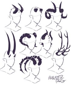 cheatsheet horn part tiefling – binde horn cheatsheet teil 2 (teil ti … - fantasyart Drawing Techniques, Drawing Tips, Drawing Sketches, Drawing Ideas, Anime Drawing Tutorials, Body Sketches, Sketch Ideas, Makeup Techniques, Poses References