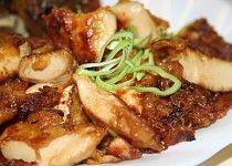 Moc dobré naložené kuřecí maso