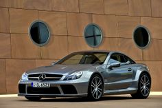 Mercedes Benz SL65 AMG Black Series 2009.