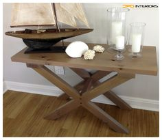 Solid French Oak Server French Oak, Entryway Tables, Furniture, Home Decor, Decoration Home, Room Decor, Home Furnishings, Arredamento, Entry Tables